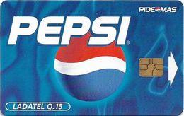Guatemala - Telgua Ladatel - Pepsi Cola, 01.2000, 15Q, Used - Guatemala