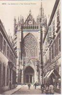 Metz   248         La Cathédrale Et Rue Ambroise Thomas - Metz