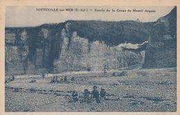 SOTTEVILLE-sur-MER (Seine-Maritime): Entrée De La Gorge Du Mesnil Argant - Autres Communes