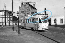 PHOTO TRAM 53 FOREST VORST MIDI NOORD VILVOORDE  BIERE WIELEMANS SCOTCH STOUT CTS  REPRO - Tramways