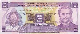 HONDURAS - 2 Lempira 2004 - UNC - Honduras