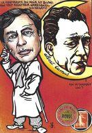 CPM Timbre Monnaie Tirage Limité 30 Ex Numérotés Signés Albert Camus - Timbres (représentations)