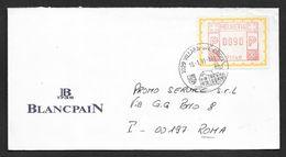 1991 VILLAP.S-SIE-CROIX N° 119 - Máquinas De Franquear