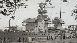 Photo KRIEGSMARINE KREUZER CRUISER Croiseur NÜRNBERG 1936 Swinemünde Battleship German Marine - Bateaux