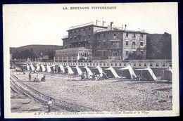 Cpa 22  Les Rosaires Près Saint Brieuc -- L' Hôtel Rosario Et La Plage     AVR20-106 - Saint-Brieuc
