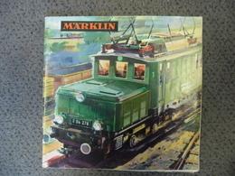 CATALOGUE De 1964 - 65 MARKLIN ACHO 1/87 TRAIN FERROVIAIRE HO Photos Et Tarifs - 36 Pages - Scala HO