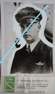 Photo KLM Pilote CTH Steensma Vliegtuig Flamengo Passengers Aircraft HAL HALLE CRASH 1937 Aviation Avion - Aviation