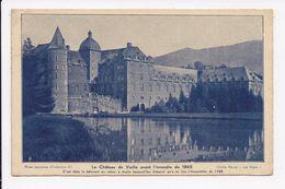 CP 38 Le Chateau De Vizille Avant L'incendie De 1865 - Vizille