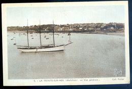 Cpa 56  La Trinité Sur Mer Vue Générale    AVR20-106 - La Trinite Sur Mer