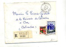 Lettre Recommandée Saint Hilaire Sur Reunion - Postmark Collection (Covers)