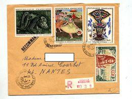 Lettre Recommandée Neuilly Sur Vix Fegas Lurcat  Louis - Postmark Collection (Covers)