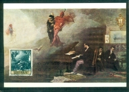 "CM-Carte Maximum Card-Tarjeta Maxima #1968-Espana,Spain,Spanien # Tableau,Gemälde,painting By  Fortuny ""Fantasia -Faust"" - Maximum Cards"