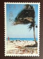 Cayman Islands 1994 5c Coconut Tree Imprint Date MNH - Cayman Islands
