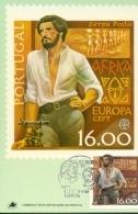 CM-Carte Maximum Card #1980-Portugal #Europa -Europa CEPT-Serpa Pinto, O Investigador,Forscher,africa-researcher (Fluor) - Cartes-maximum (CM)