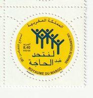 Maroc. Timbre Yvert Et Tellier N° 1622 De 2011. Semaine De La Solidarité - Maroc (1956-...)