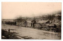 Train -  Gare - Rapide Paris / Cote D'Azur -  CPA ° - Trains
