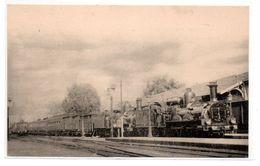 Train -  Gare - Rapide Cote D'Azur -  CPA ° - Trains