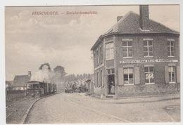 Bixschoote  Bikschote  Langemark-Poelkapelle  Smiske-tramstatie  TRAM VAPEUR - Langemark-Poelkapelle