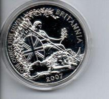 Großbritannien 2007 Britannia, Silber, 2 Pfund, 1 Unze Oz Once, Great Britain, Grande-bretagne - 1971-… : Monnaies Décimales