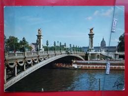 KOV 11-33 - PARIS, Bridge, Pont Alexandre III - Sonstige