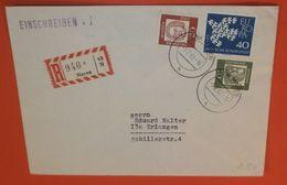 BUND BRD R- Brief Registered Cover - Mayen --- 05.02.1962  (2 Foto)(38163) - BRD