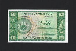 TWN - WESTERN SAMOA 16dCS - 1 Tala 1967 UNC - Limited Official Reprint 2020 - Samoa