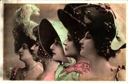 Femme Photo 890 Artiste 1900 Otéro Cléo De Mérode Chapeau (reutlinger 443-3 - Femmes