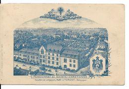 ROUVROY - TORGNY (6767) : Pensionnat Des Sœurs De Sainte-Chrétienne, Transféré De Longuyon (Meurthe Et Moselle). CPA. - Rouvroy