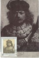 "Maximum Card Checoslovaquia ""Pintura"" - Tchécoslovaquie"