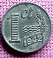 NEDERLAND : 1 CENT 1942 XF+ KM 170 - [ 3] 1815-… : Royaume Des Pays-Bas
