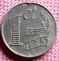 NEDERLAND : 1 CENT 1943 XF+ KM 170 - [ 3] 1815-… : Royaume Des Pays-Bas