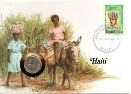 Haiti - 10 Centimes 1975 UNC In An Envelope Lemberg-Zp - Haiti