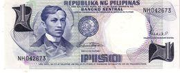 Philippines P.142b   1 Piso 1969  Unc - Philippines