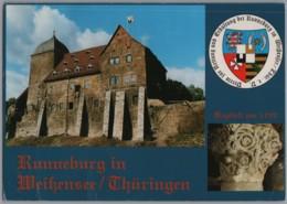 Weissensee - Runneburg Residenz Der Landgrafen Von Thüringen   Großbildkarte - Weissensee
