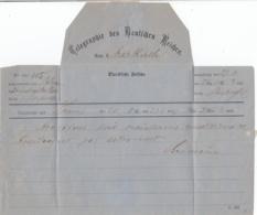 Deutsches Reich Telegramm 1877 - Covers & Documents