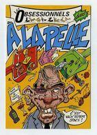 CP Pub. Les Obsessionnels à La Pelle. Théâtre De Trévise, Paris. (Antérieur à 2002) Visuel Caricature Portrait BD Comics - Theater