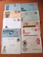 +++ Sammlung Deutsches Reich 10 Briefe Werbung +++ - Collections (sans Albums)
