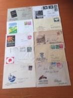 +++ Sammlung Deutsche Bundespost 10 Briefe Werbung +++ - Collections (sans Albums)