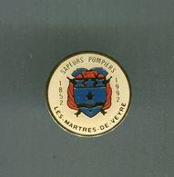 Pin's - LES MARTHES DE VEYRE Blason écusson Sapeurs Pompiers - Puy De Dome - Sapeur Pompier - Firemen