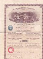 PIE.T-GF 20-93 : COMPANHIA PORTUGESA CONSTRUCAO E EXPLORACAO DE CAMINHOS DE FERRO. LISBOA PORTUGAL - Chemin De Fer & Tramway