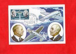 G1006 - Timbre Sur Carte - DAURAT - VANIER - Premier Jour 17 Avril 1971 - Airmail