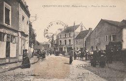 49 - CHALONNES SUR LOIRE - Place Du Marché Au Lin - Chalonnes Sur Loire