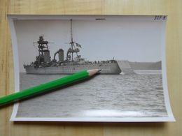 CROISEUR FOCH  PHOTO 1933 AVEC RAMPE DE RECUPERATION TOULON - MARINE BATEAU MILITARIA - Boats