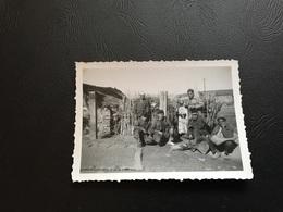 Guerre D'Algerie 1957 -  Soldats Français & Autochtones AMOFS (?) - Guerre, Militaire