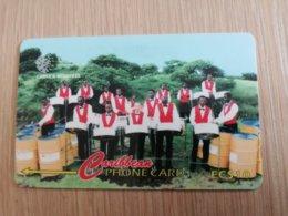 GRENADA  $ 10,- GPT GRE-287CGRC   COMMANCHEROS  GRENADA       MAGNETIC    Fine Used Card    **2276** - Grenada