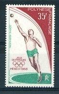Polynésie  -  1968  -  Avion  :  Yv  26  ** - Unused Stamps