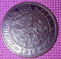 NEDERLAND : 2 1/2 CENT 1916 XF KM 150 - 2.5 Cent