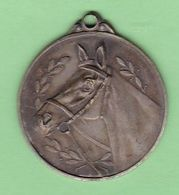 CABALLOS, JGA MIRAFLORES AÑO 1964 ARGENTINA. CHEVAL HORSE MEDALLA MEDAL MEDAILLE -LILHU - Tokens & Medals