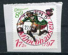 Deutschland Michel-Nr. 3546 Vollstempel Auf Briefstück - [7] Federal Republic