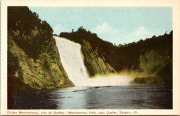 Canada Montmorency Falls Near Quebec - Montmorency Falls